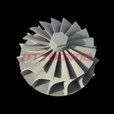 Nickel Alloy Turbo Wheel Casting