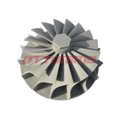 Nickel Alloy Turbo Wheel Casting