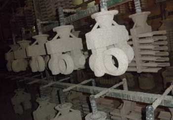 water glass investment casting